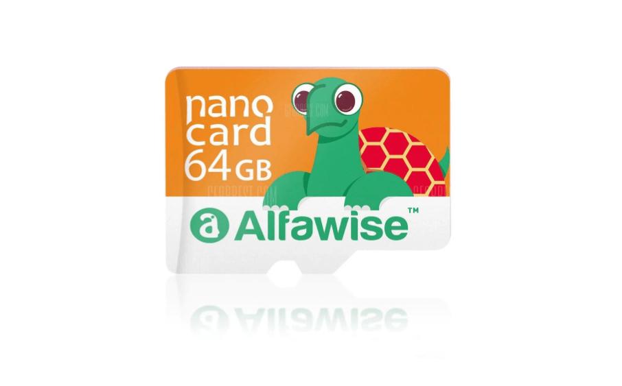 🔥 Bon Plan : la carte microSDHC Alfawise 64 Go à 7,80 euros