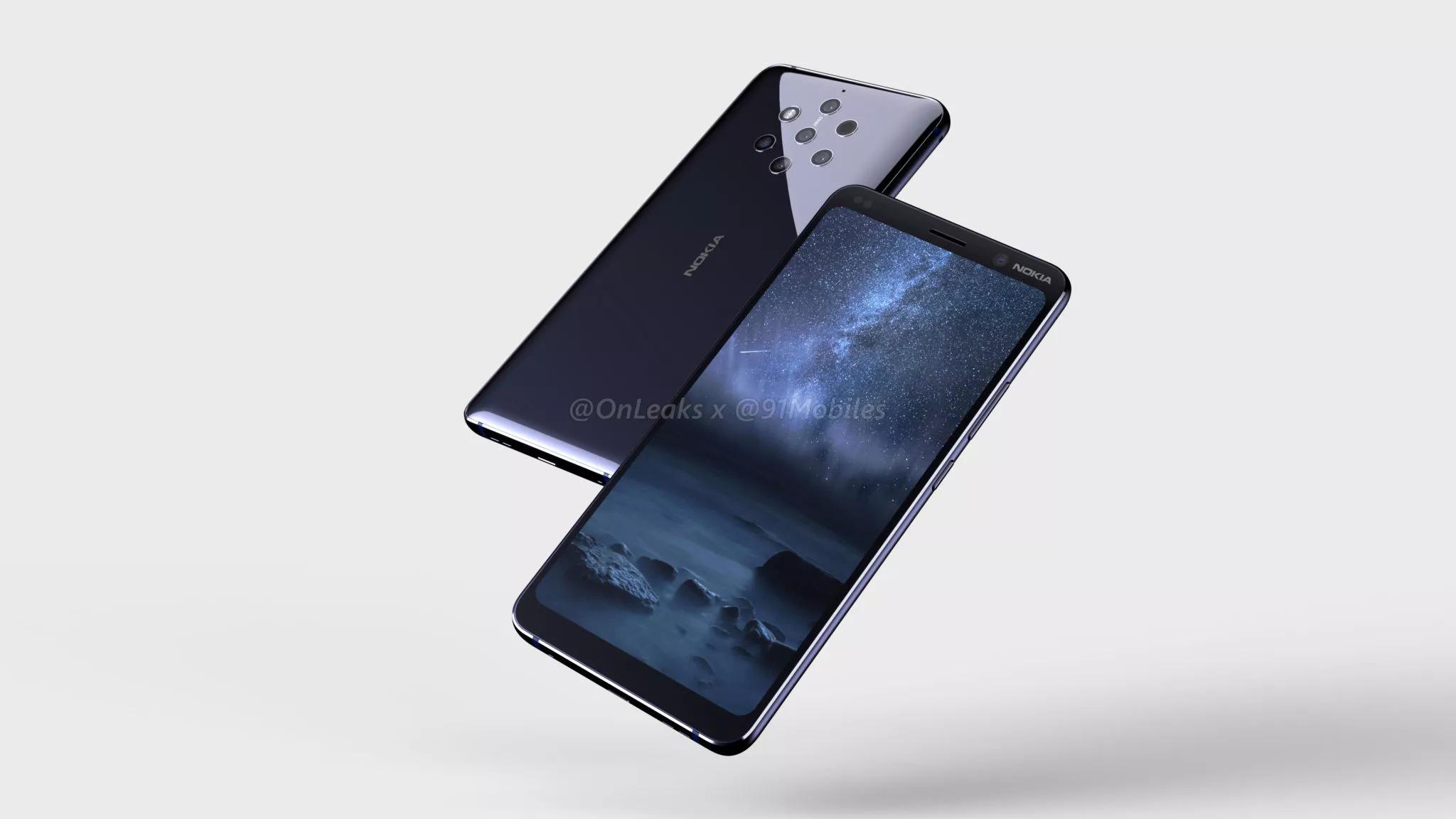 Le Nokia 9 PureView serait dévoilé avant le MWC en plus d'une version 5G avec Snapdragon 855