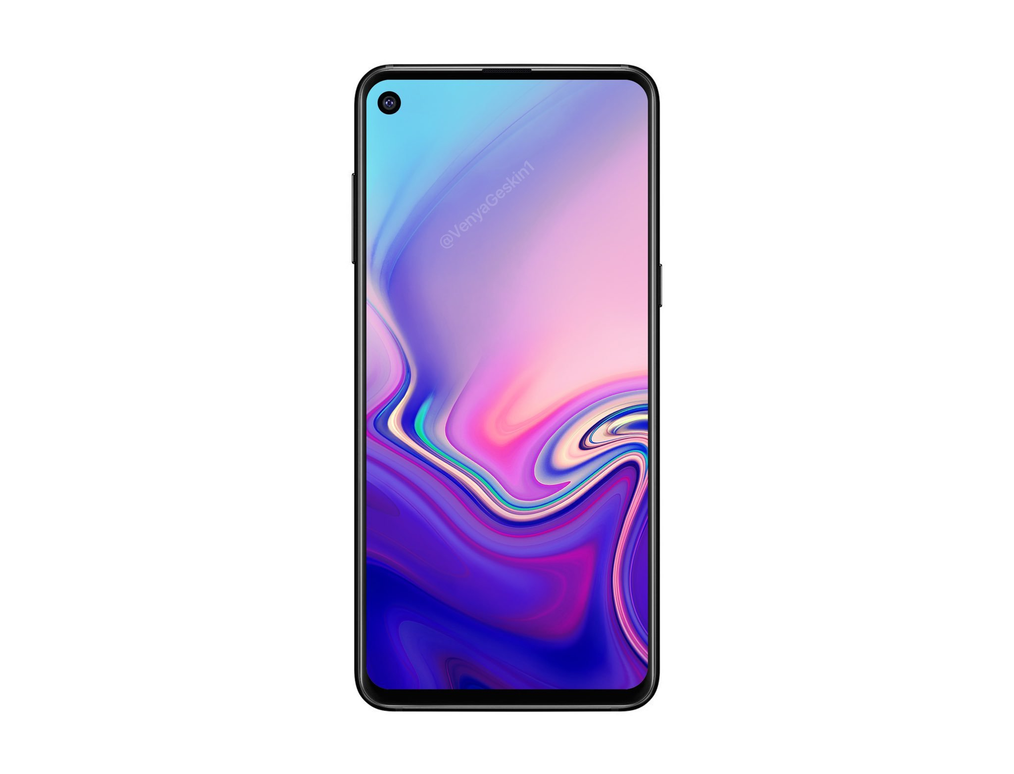 Samsung Galaxy A8s : voici comment l'interface s'adapte à l'écran percé