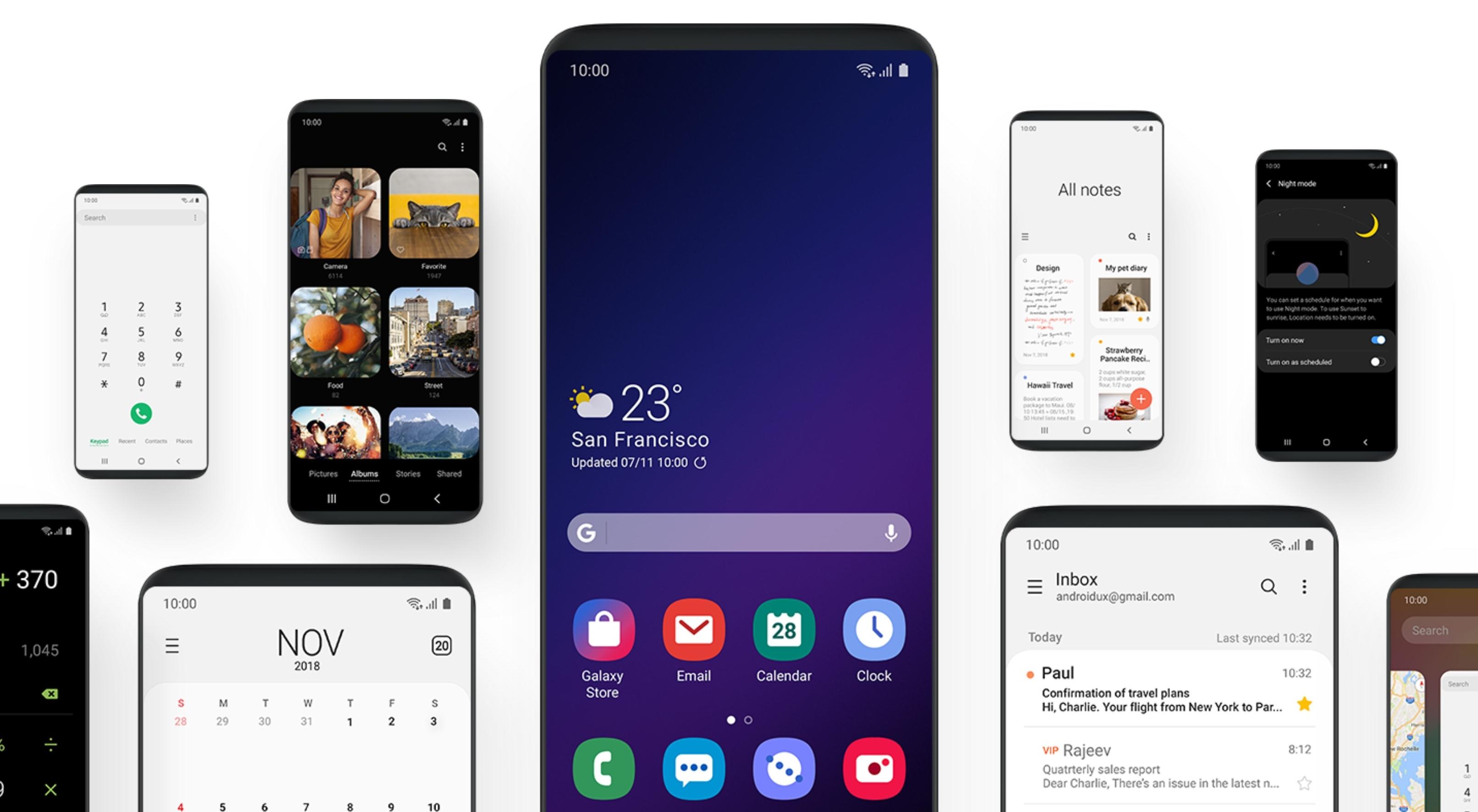 Samsung One UI : voici les icônes de la future interface, un peu plus modernes