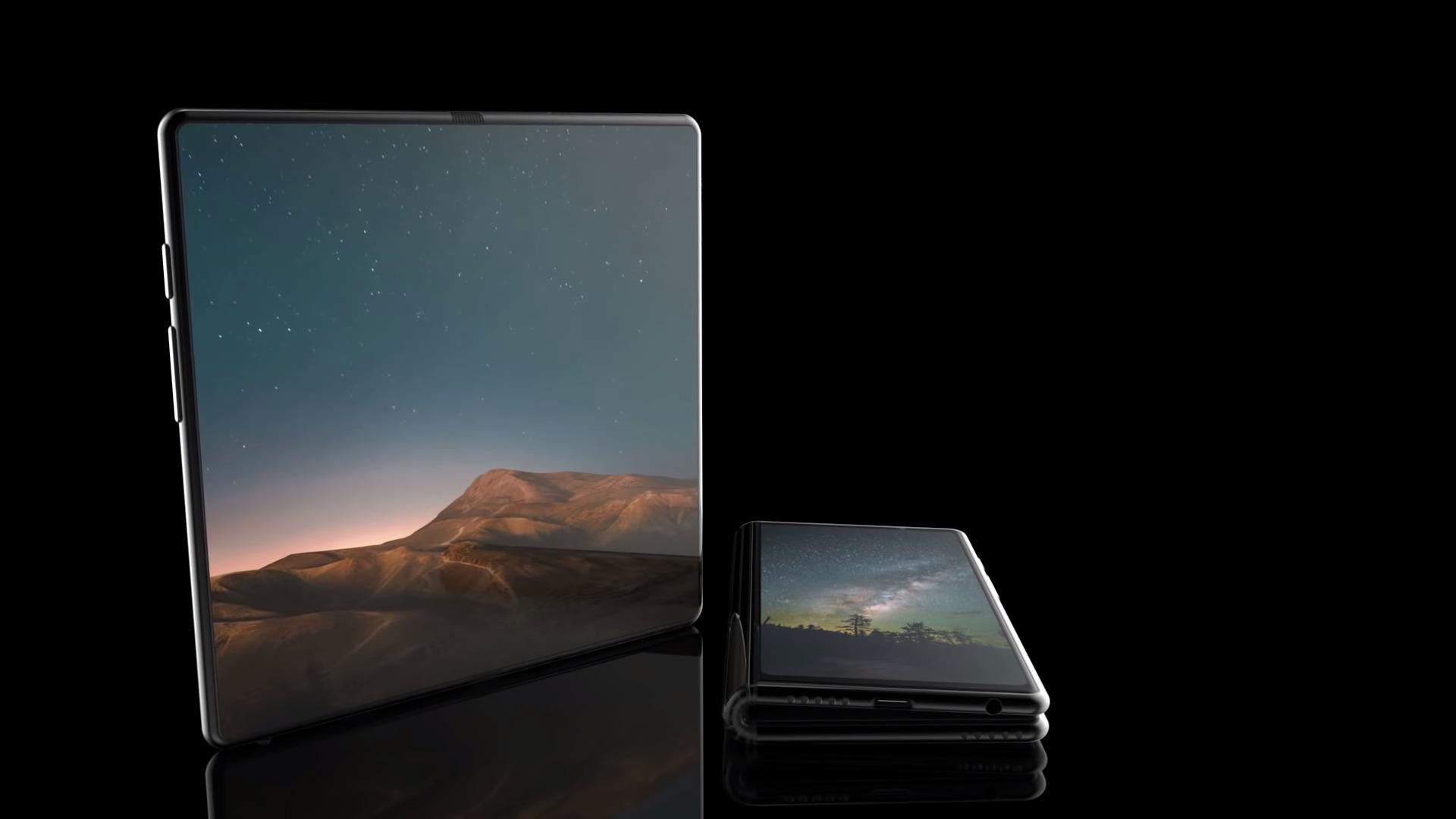 Rendus 3D : le smartphone pliable de Samsung suscite l'imagination des concepteurs