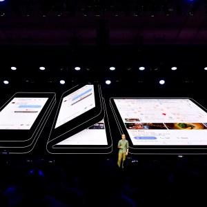 Samsung Infinity Flex : les caractéristiques de l'écran dévoilent une petite diagonale
