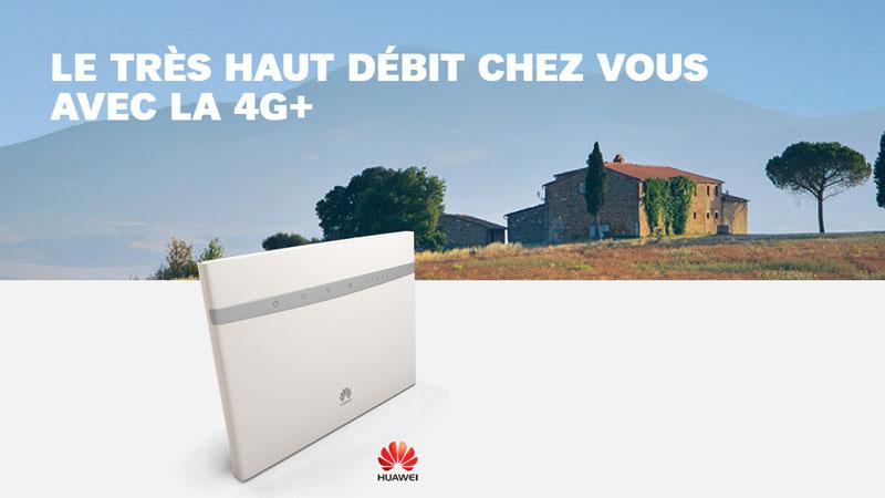 SFR lance une box 4G avec téléphone illimité, ainsi qu'une carte SIM 4G illimitée à la demande
