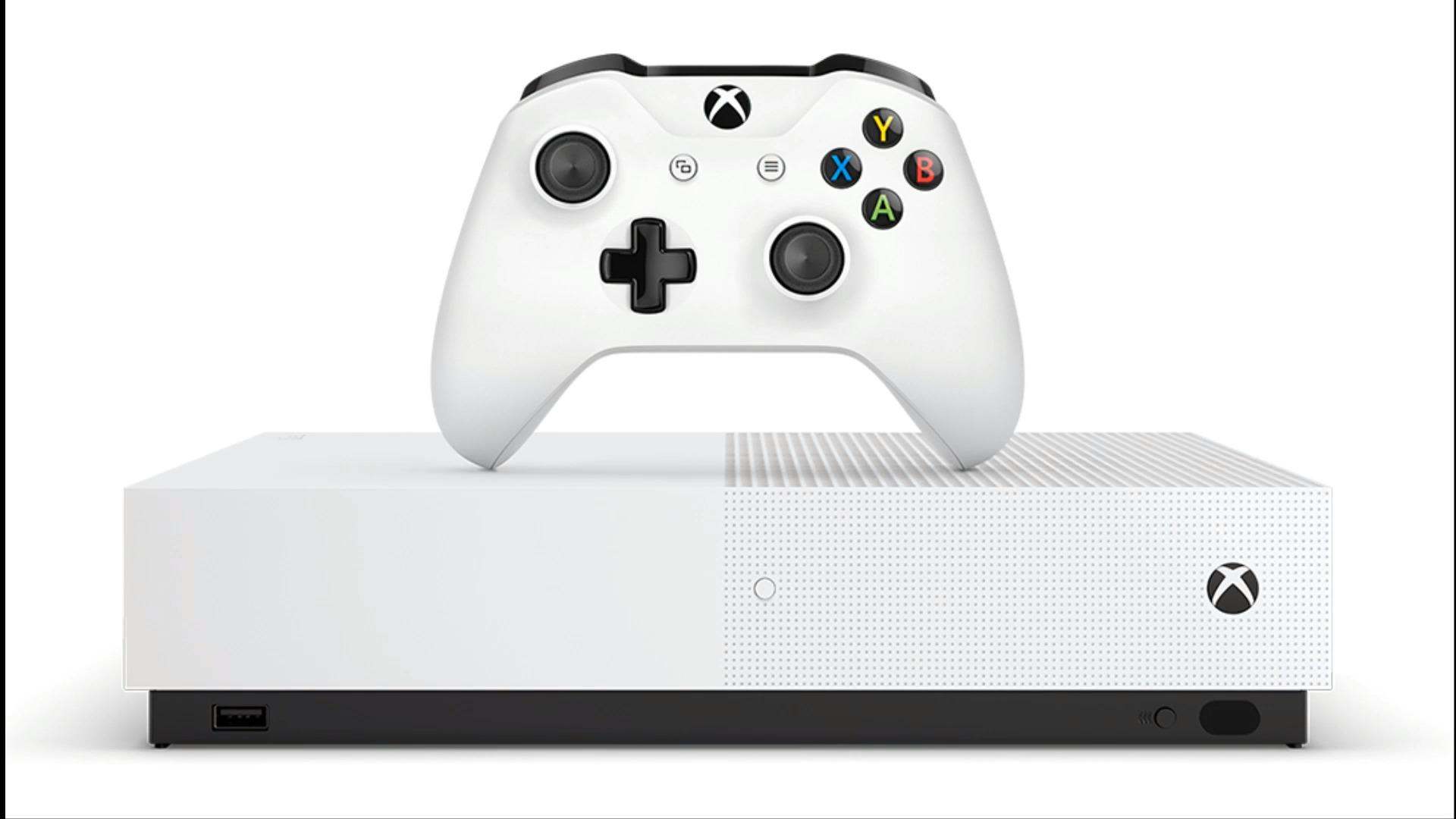 Xbox One S All-Digital Edition : la console aux jeux 100% dématérialisés de Microsoft arriverait en avril