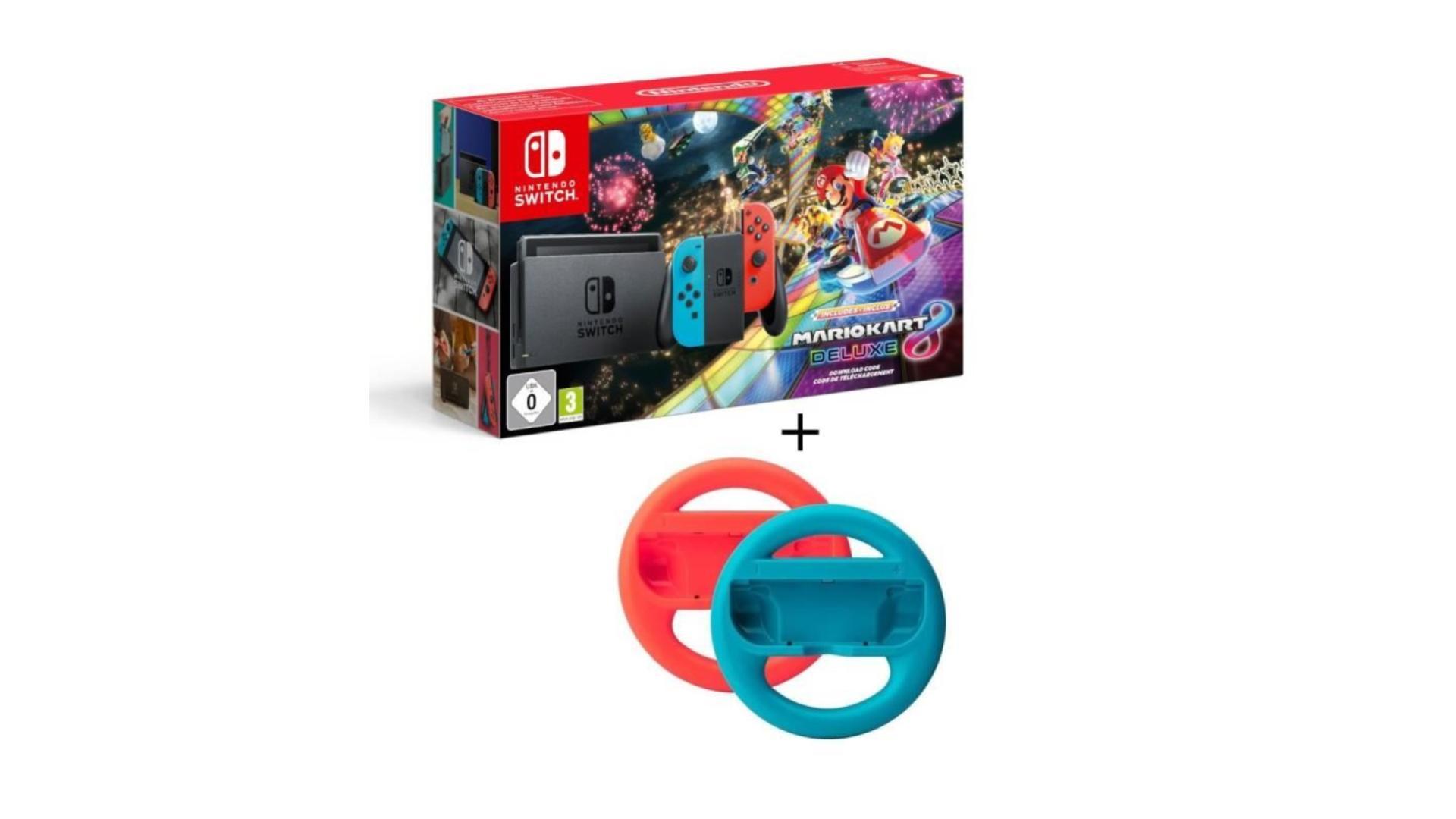 🔥 Bon plan : la Nintendo Switch avec Mario Kart 8 et 2 volants à 309,99 euros sur Cdiscount