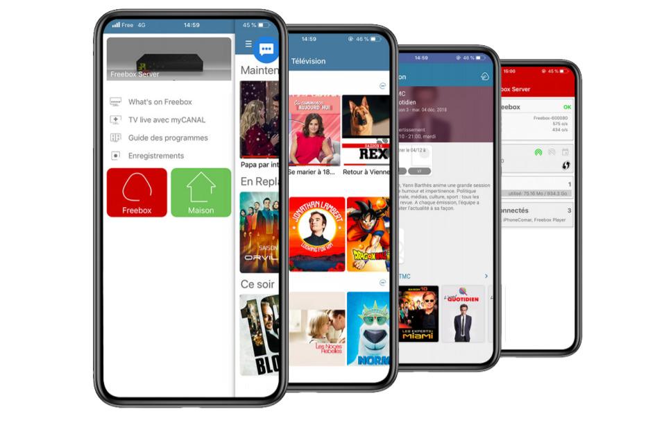 Free met à jour son application mobile Freebox : comment s'inscrire à la bêta