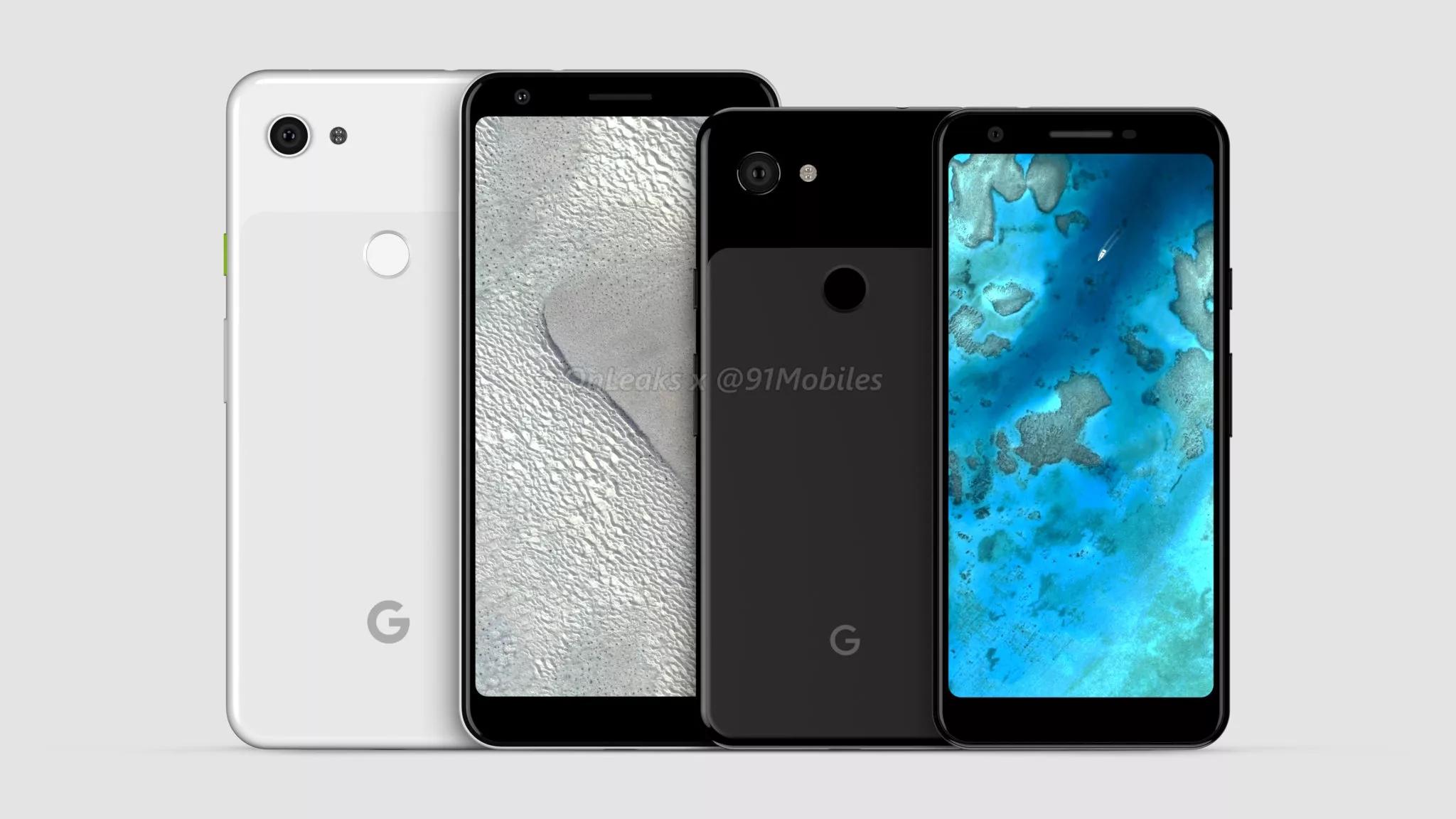 Les Google Pixel 3a et 3a XL se confirment pour le milieu d'année