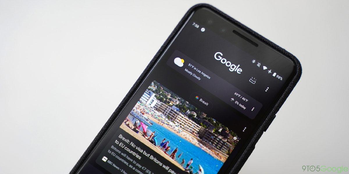 Google Discover (ex Google Feed) a le droit à un véritable thème sombre