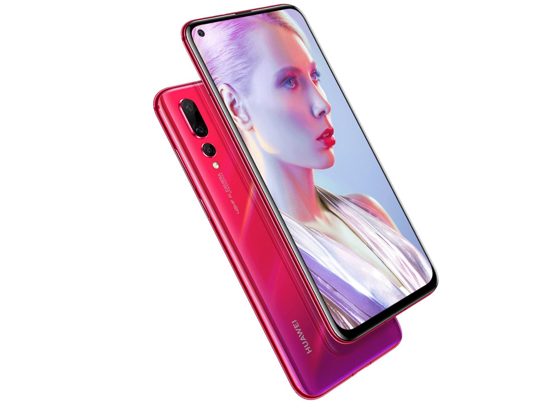 Huawei Nova 4 officialisé : images, caractéristiques, disponibilité et prix