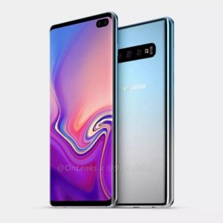 Galaxy S10 : Samsung imagine une solution pour que le trou dans l'écran ne soit jamais inutilisé
