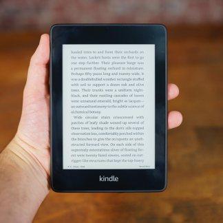 Test de l'Amazon Kindle Paperwhite 2018 : mon bouquin préféré