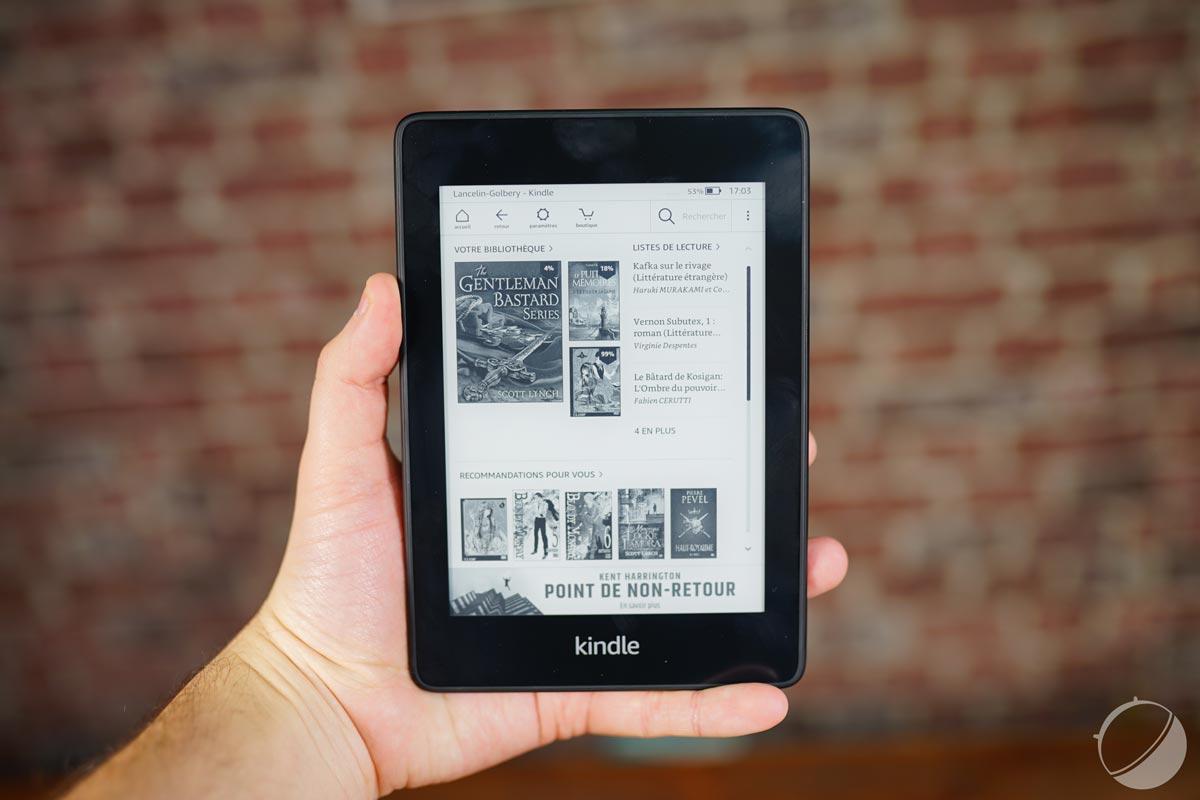 Amazon baisse le prix de sa liseuse avant l'arrivée de la nouvelle Kindle Paperwhite