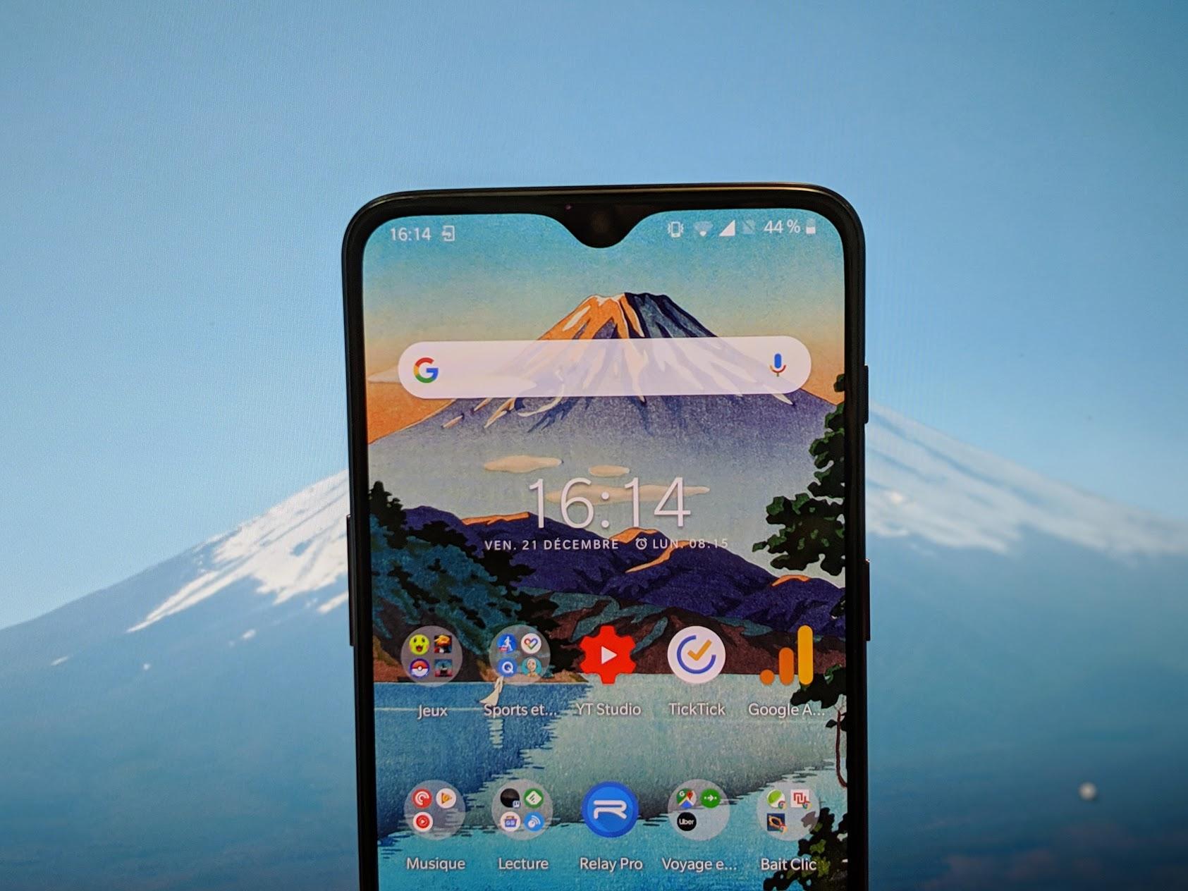 L'app de la semaine : mon smartphone ressemble à une estampe japonaise et c'est super classe