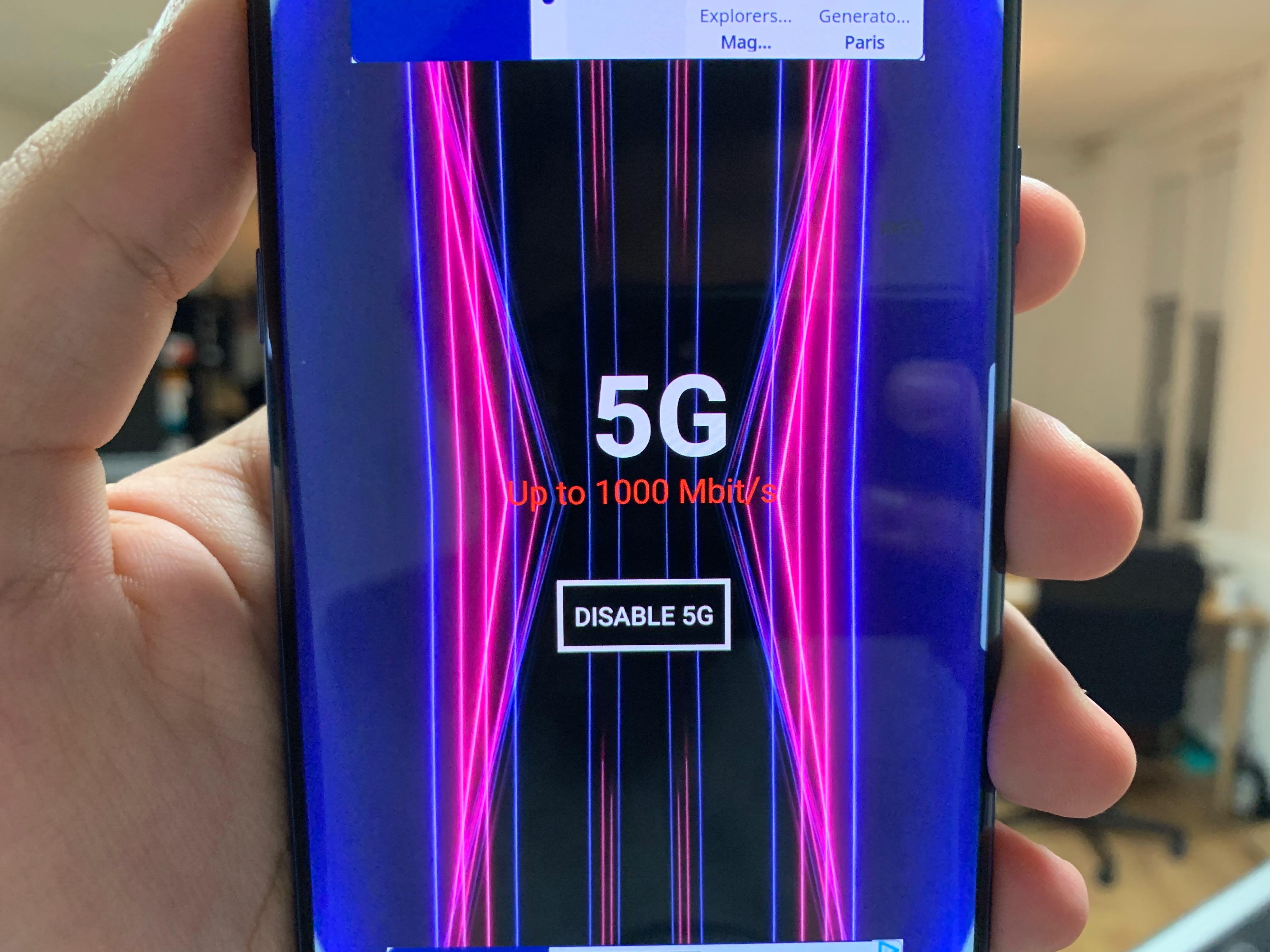 La blague nulle de la semaine : cette application fait croire que vous profitez de la 5G