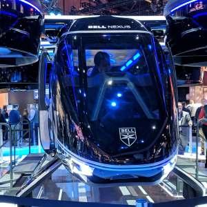 La ville de Paris est candidate à la mise en service des taxis volants et autonomes