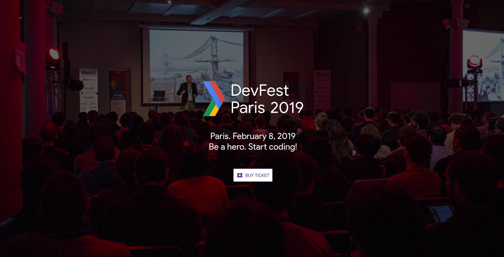 La conférence DevFest Paris fait son grand retour en février