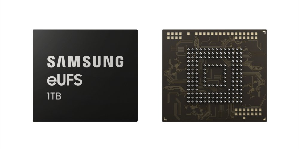 Galaxy S10 : Samsung officialise sa mémoire flash 1 To en UFS 2.1