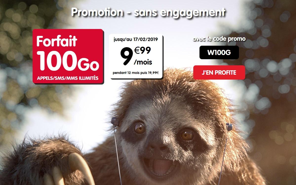 🔥 Bon Plan : le forfait NRJ mobile avec 100 Go de 4G est à 9,99 euros par mois pendant un an