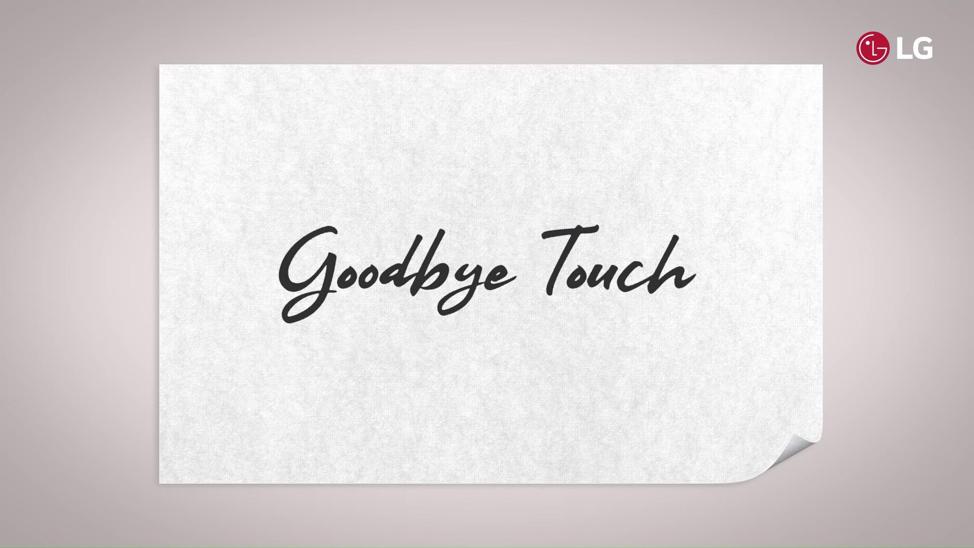 Une navigation par gestes sans toucher l'écran : c'est la démo que promet LG au MWC 2019