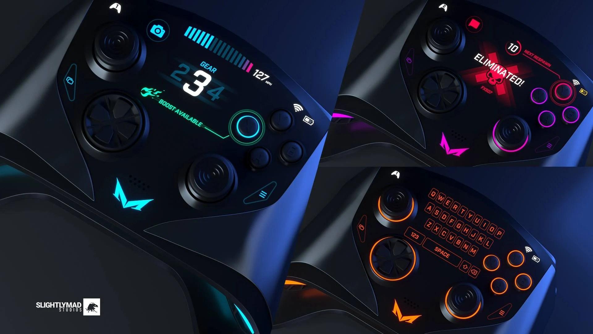 Mad Box : voici les manettes de cette console un peu folle