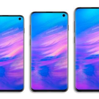 Samsung Galaxy S10 : une pluie de nouvelles photos montrent bien son écran percé
