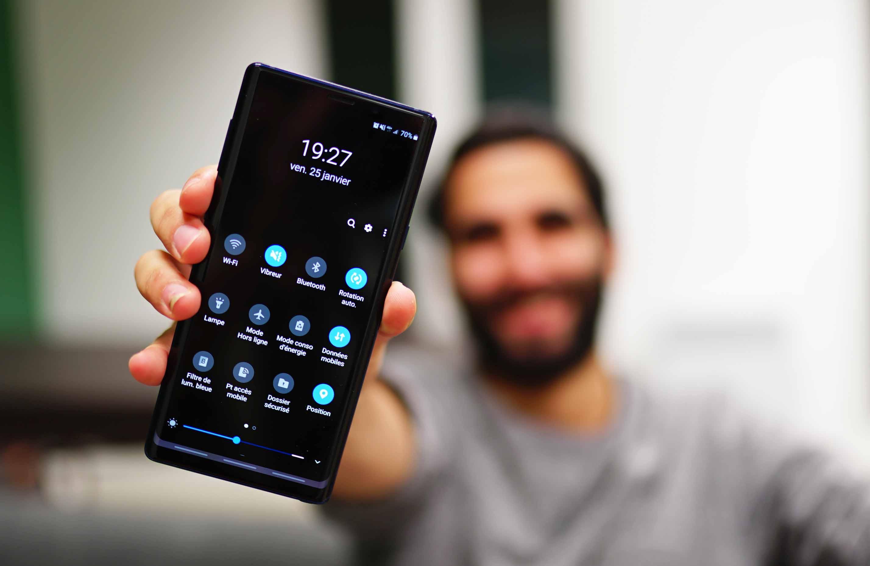 One UI sur mon Samsung Galaxy Note 9 : une longue attente parfaitement récompensée