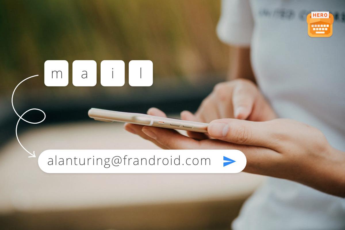 L'app de la semaine : j'écris mon mail ou ¯\_(ツ)_/¯ en un clic, ça me fait gagner un temps fou