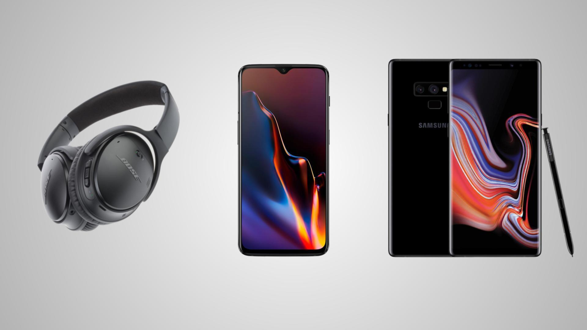 Bose QC 35 II à 263 euros, OnePlus 6T à 459 euros et Samsung Galaxy Note 9 à 618 euros pour le Megapeak de Rakuten