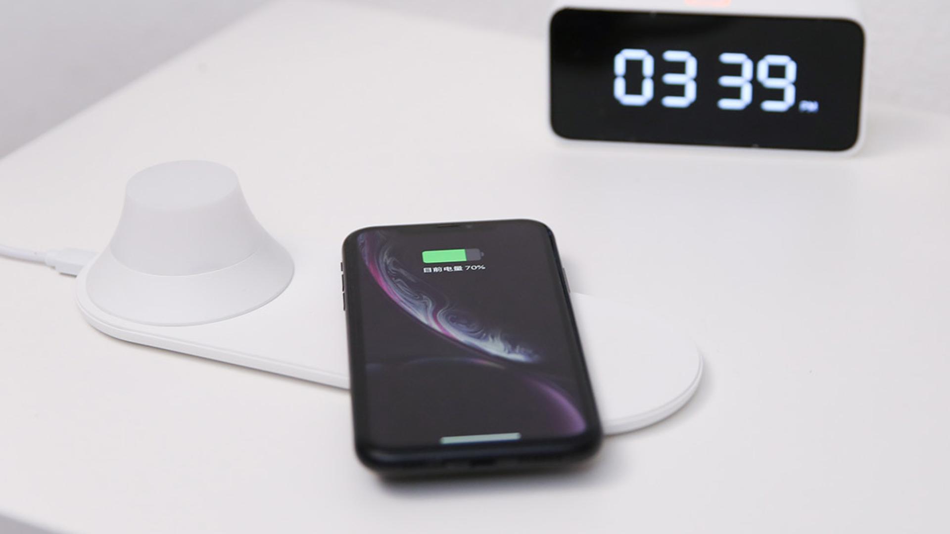 Xiaomi et Yeelight dévoilent un chargeur sans fil très pratique