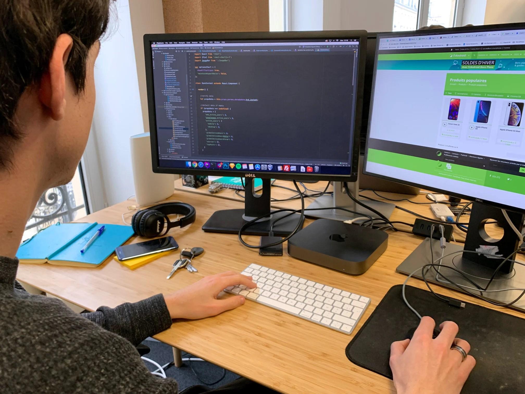 Offre d'emploi : Humanoid recrute un·e développeur·se web en CDI