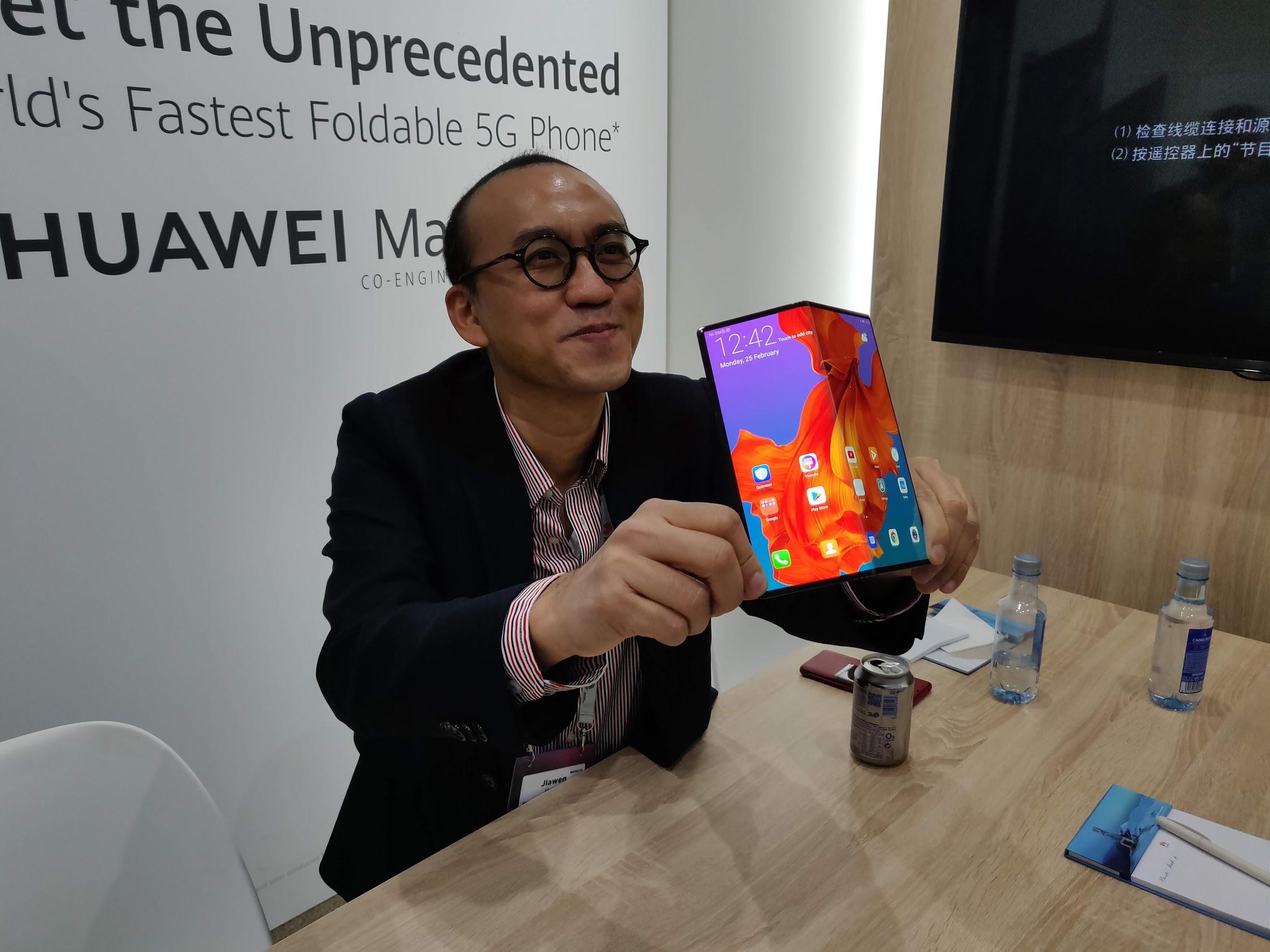 Mate X : Google a participé au développement du smartphone pliable de Huawei