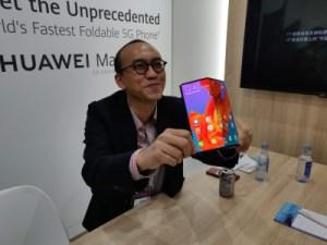 Huawei Mate X : le smartphone pliable sortira en octobre… en Chine