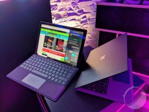 Prise en main des Surface Pro 6 et Surface Laptop 2 : noir, c'est noir
