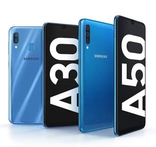 Samsung officialise les Galaxy A30 et Galaxy A50 en marge du MWC 2019
