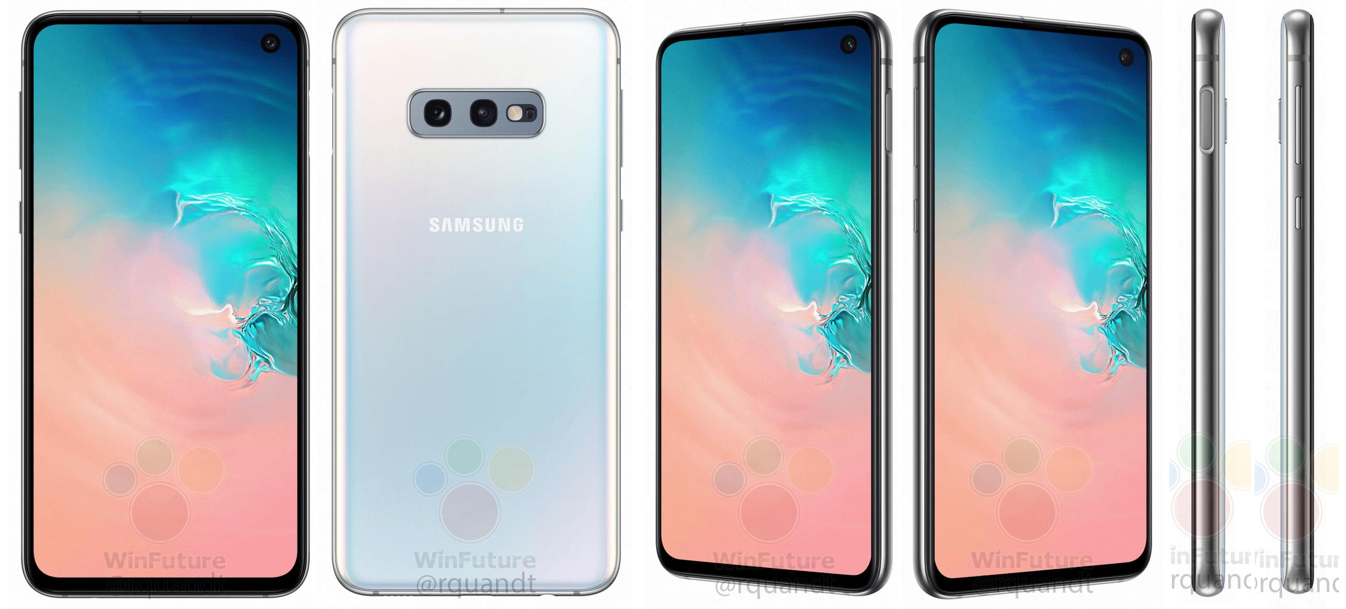 Samsung Galaxy S10E : le petit Galaxy S10 se dévoile sous toutes les coutures