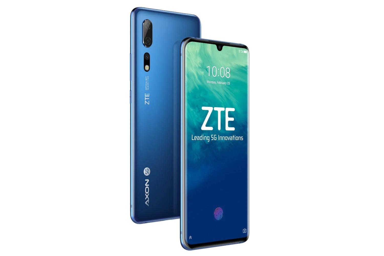 ZTE dévoile un smartphone 5G et un milieu de gamme au MWC 2019