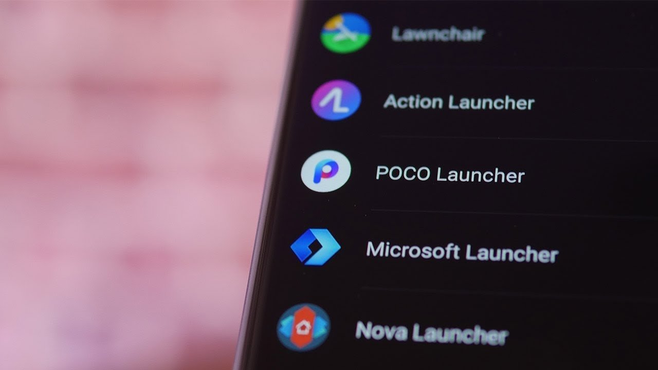 Les meilleurs launchers d'applications alternatifs sur Android en 2019