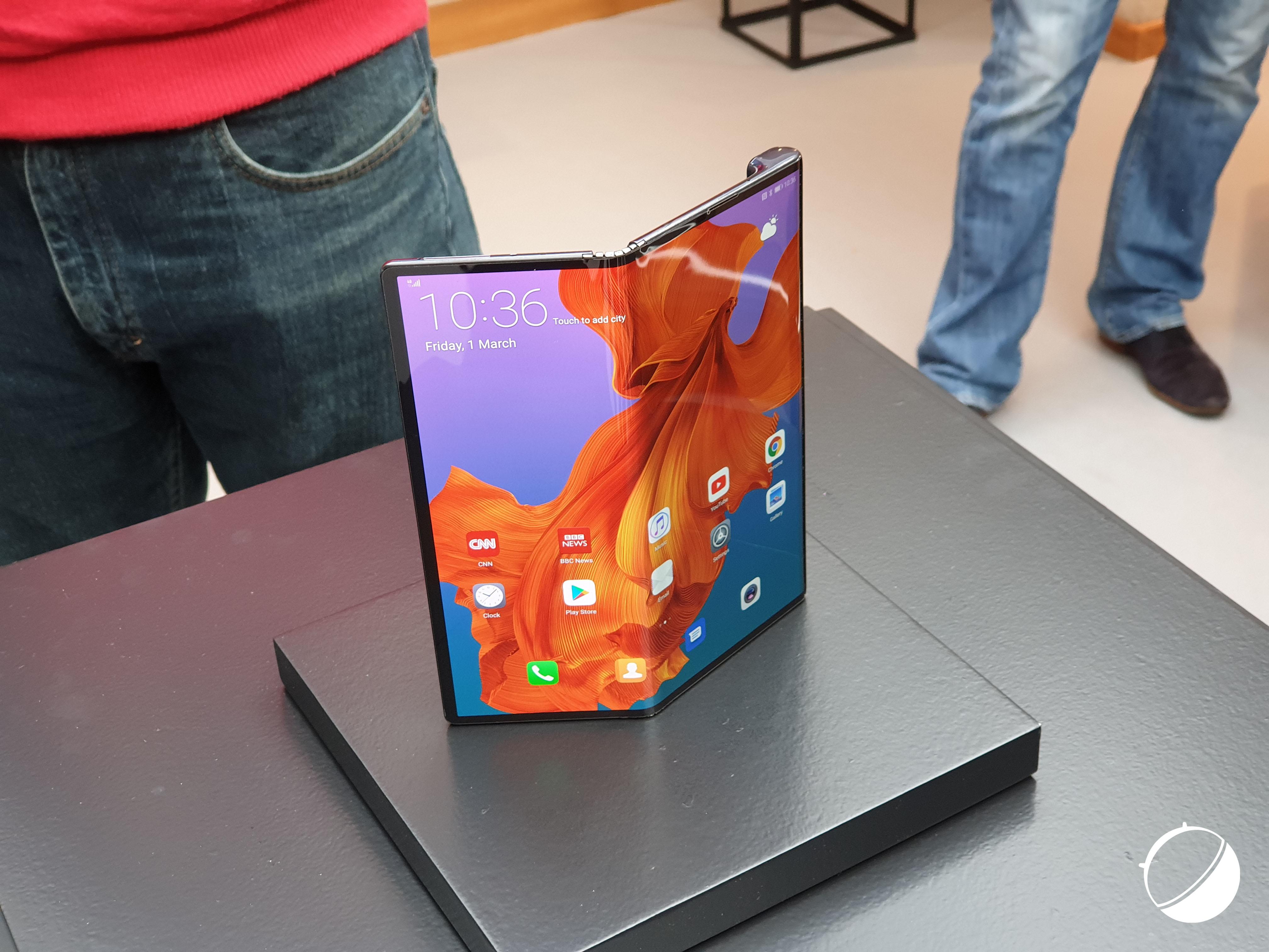 Cinq mois plus tard, le Huawei Mate X est encore en cours de développement