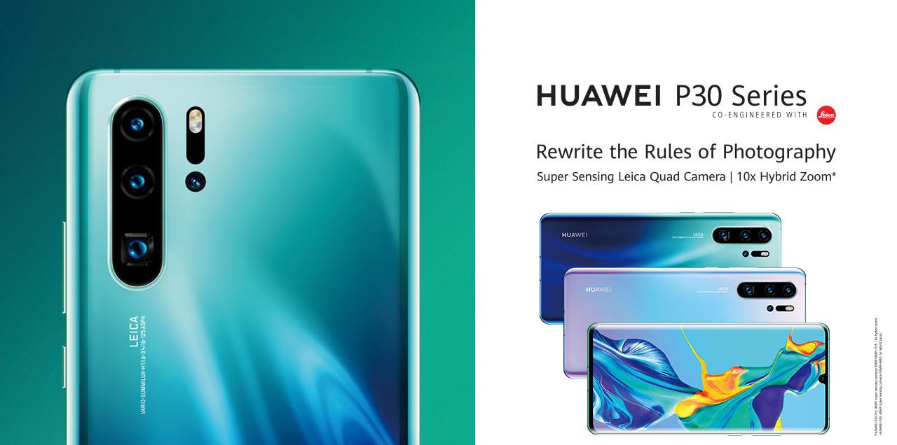 Huawei P30 Pro : la marque dévoile toutes les fonctionnalités de l'appareil photo par erreur