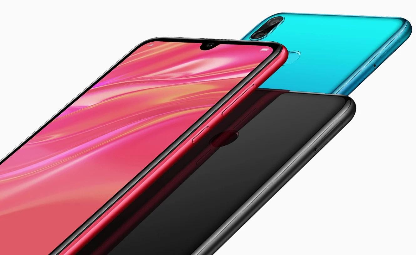 Huawei Y7 2019 : grand écran et petite encoche pour le nouvel entrée de gamme de Huawei