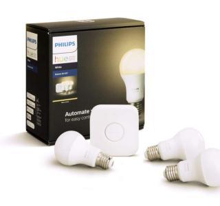Presque 30 % de remise sur ce kit Philips Hue avec 3 ampoules blanches