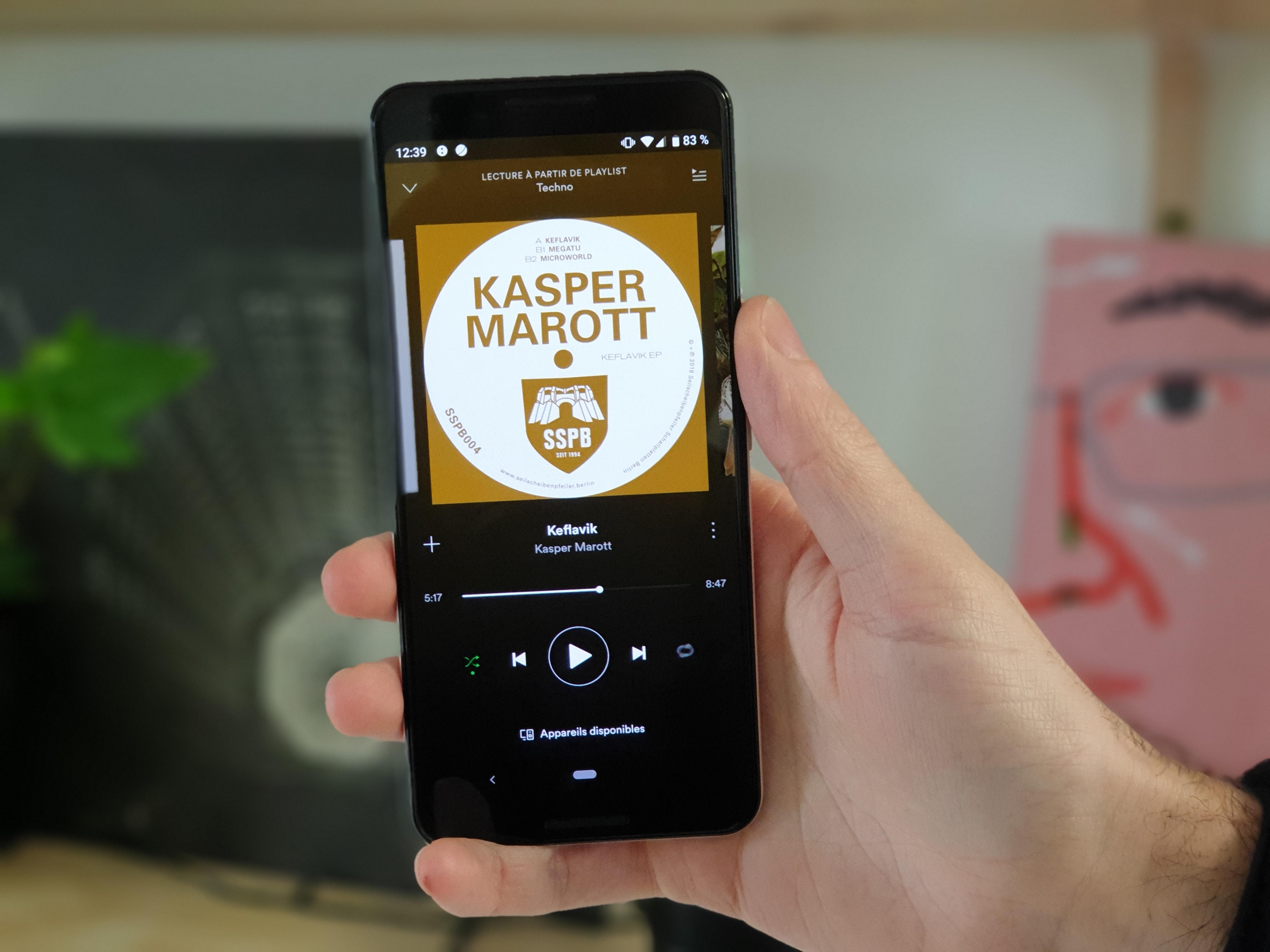 Spotify ajoute un minuteur de veille bien pratique à son application