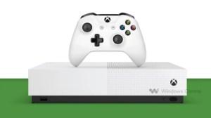 Xbox One S All-Digital Edition : une fuite révèle prix en euro et images