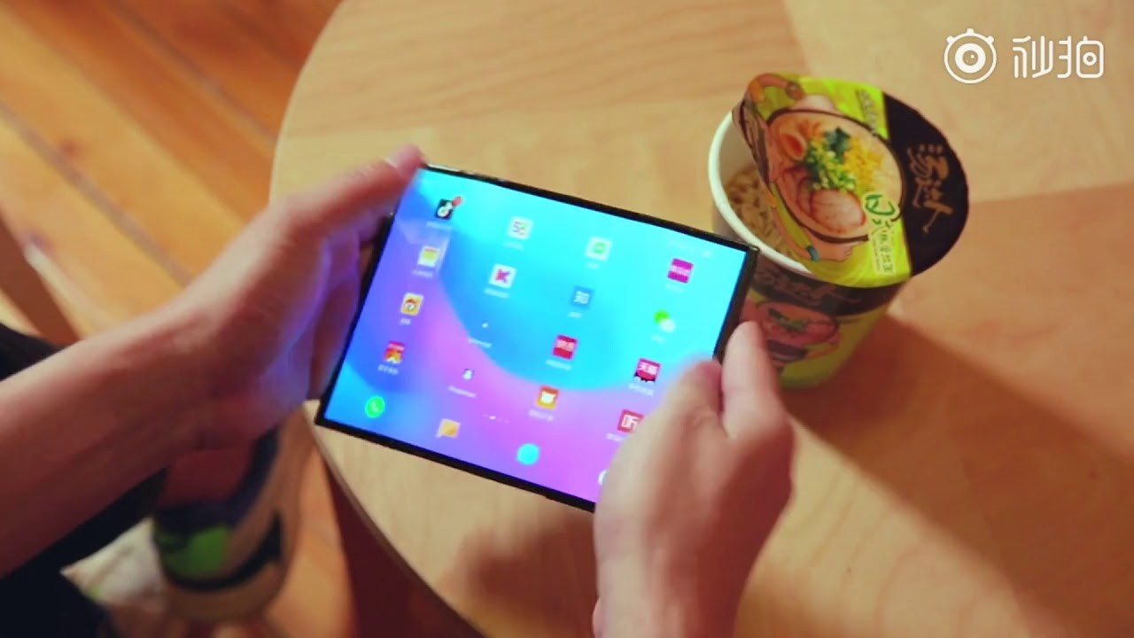 Smartphone pliable de Xiaomi : vous pouvez à nouveau l'admirer en vidéo