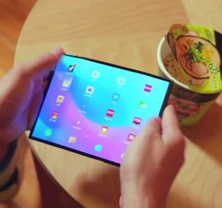 Xiaomi : son smartphone pliable semble avoir changé de design