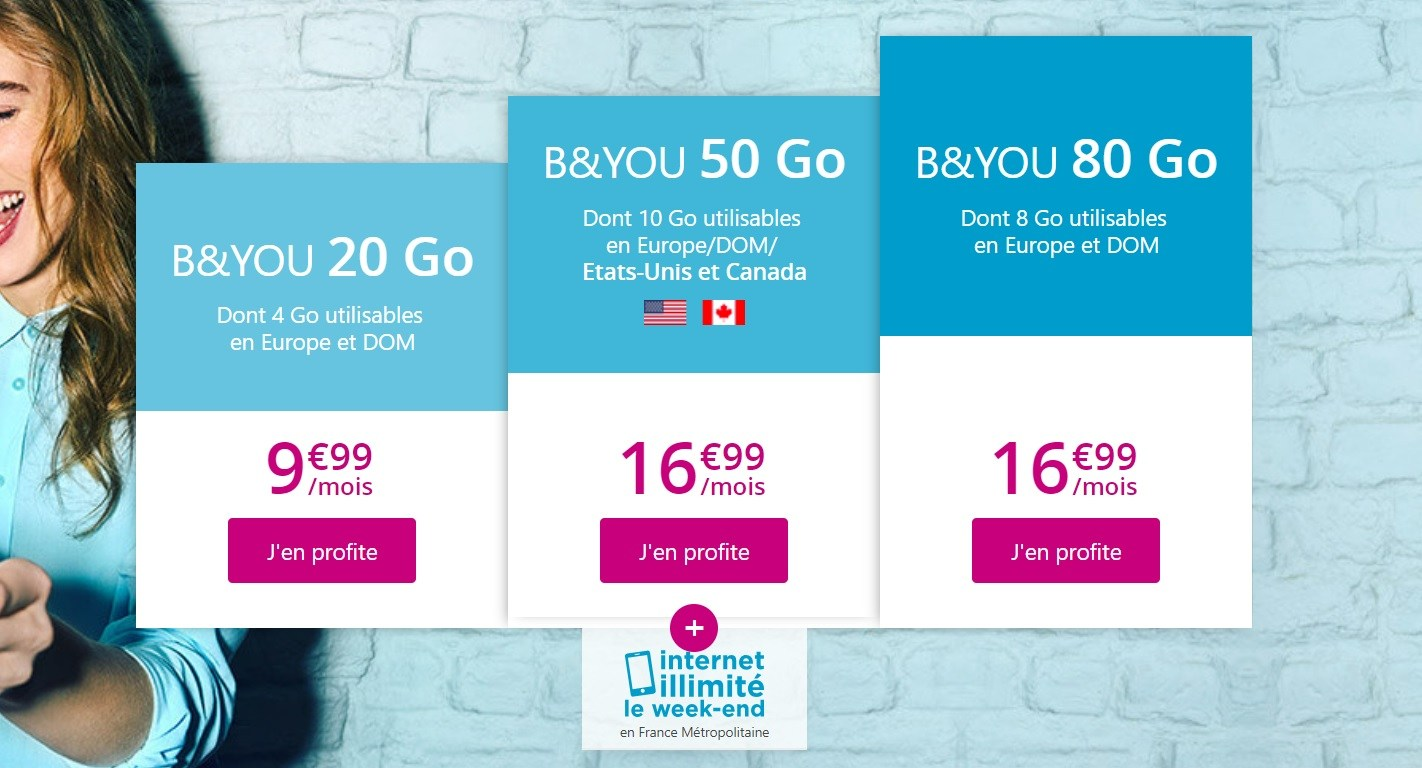 🔥 Bon plan : Bouygues propose 3 nouveaux forfaits mobile sans engagement à partir de 9,99 euros