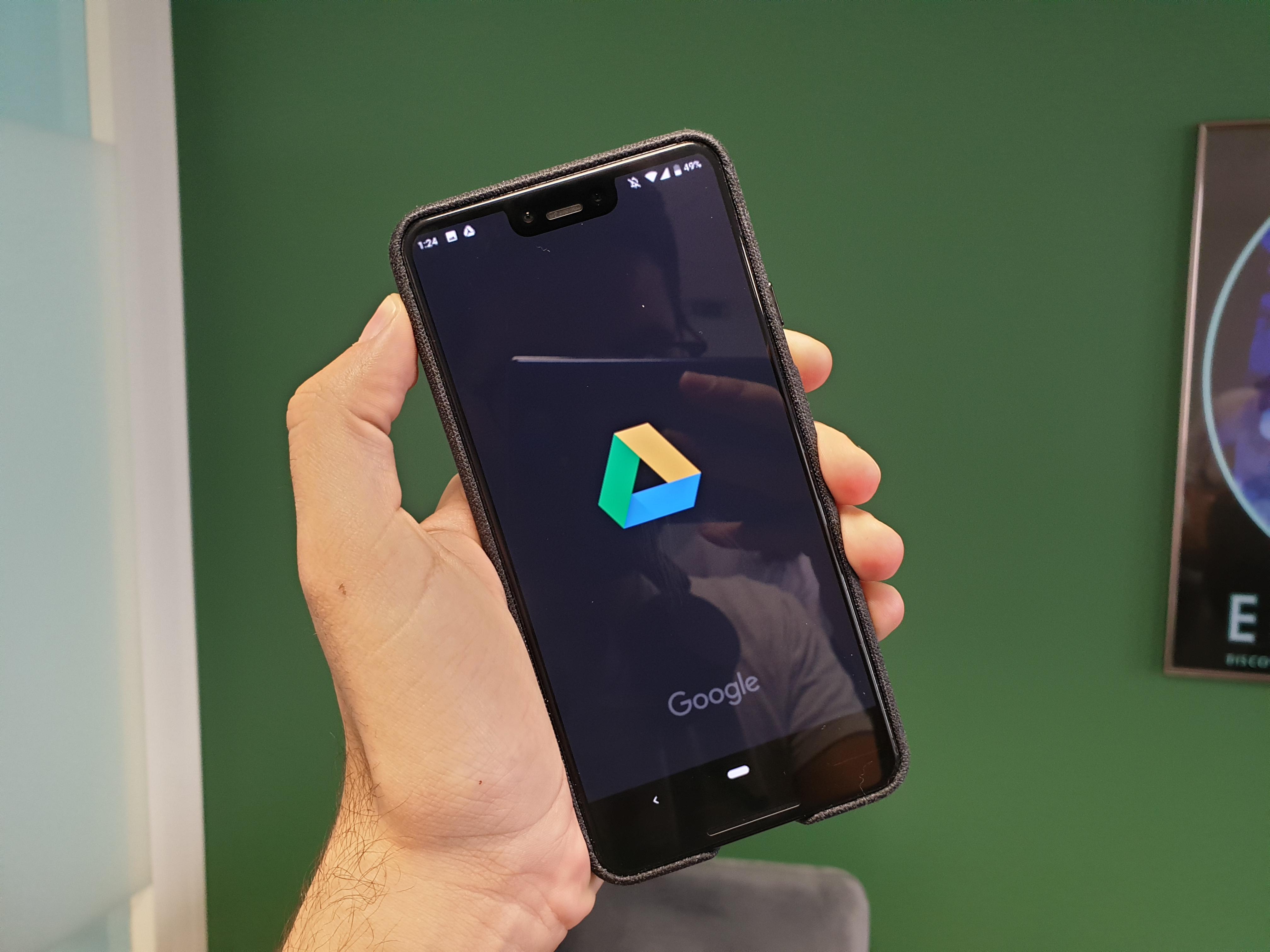 Google Drive sur Android : un thème sombre est en préparation
