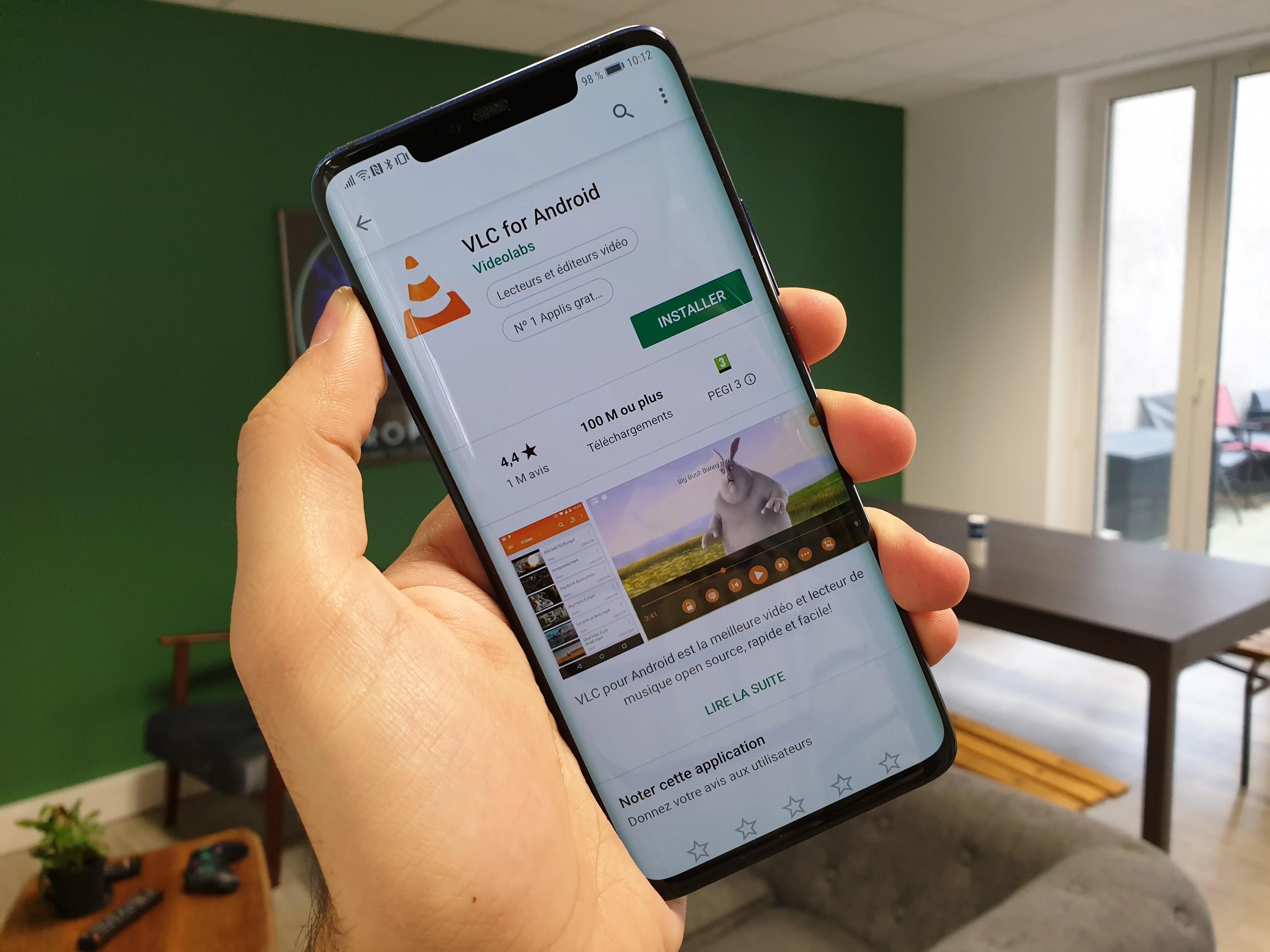 VLC et Huawei ont fait la paix : télécharger l'app est à nouveau possible