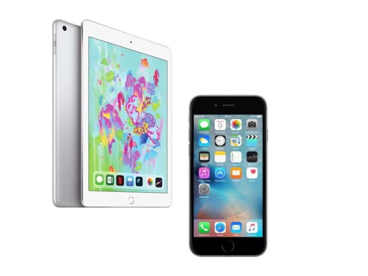 🔥 French Days : un pack iPad 2018 (32 Go) + iPhone 6S est à 499 euros