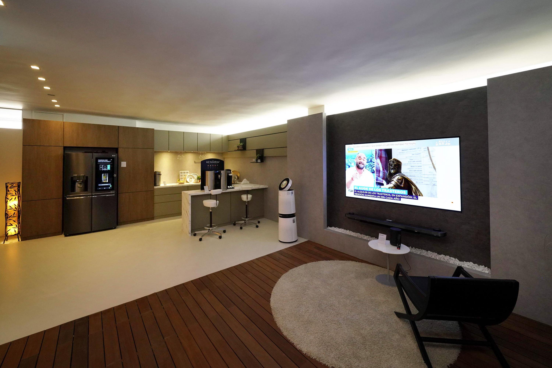 LG Home : on a visité la maison du futur dopée à l'IA ThinQ